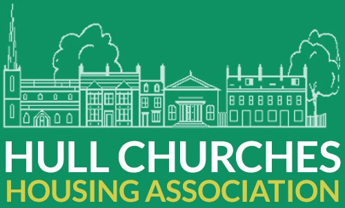 Hull Churches Housing Association Mobile Logo